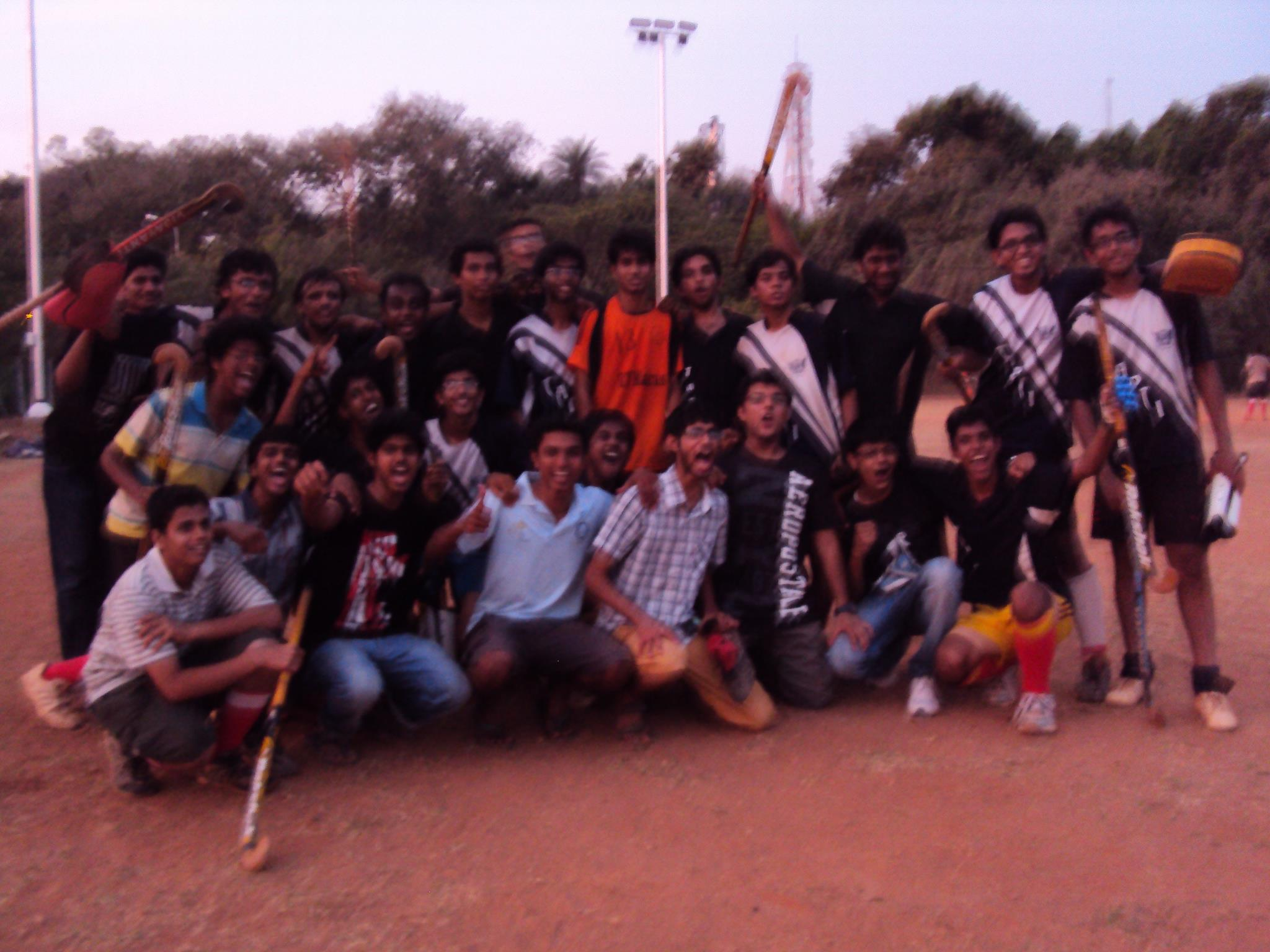 After the win over Mandak 3-0. My last match for Tapti.