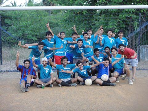 Gold winning Alak Footer Team, 2011
