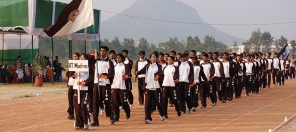Leading IITM contingent InterIIT 2006